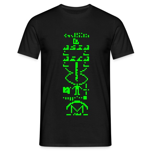 Arecibo Message - T-shirt Homme