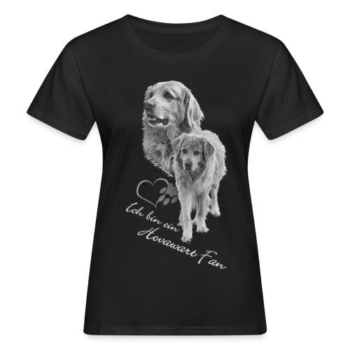 Hovawart s-w - Frauen Bio-T-Shirt