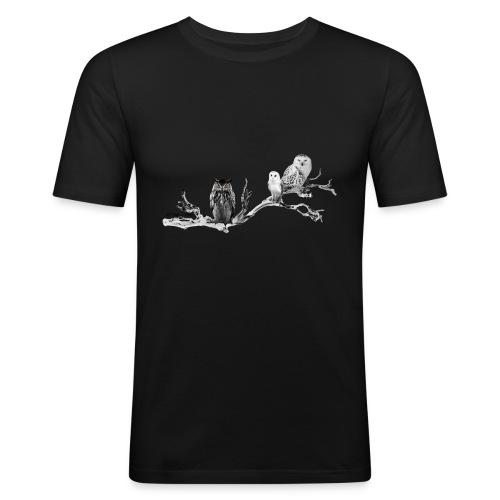 Owls Homme - T-shirt près du corps Homme