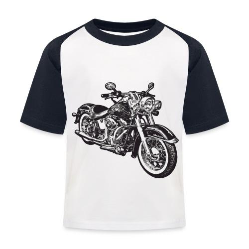 Chop&Motor - T-shirt baseball Enfant