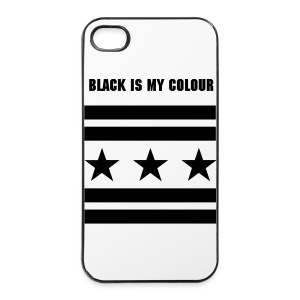 BLACK IS MY COLOUR - IPHONE 4/4s CASE  - iPhone 4/4s Hard Case