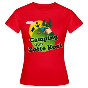 Dames T-shirt - Vrouwen T-shirt