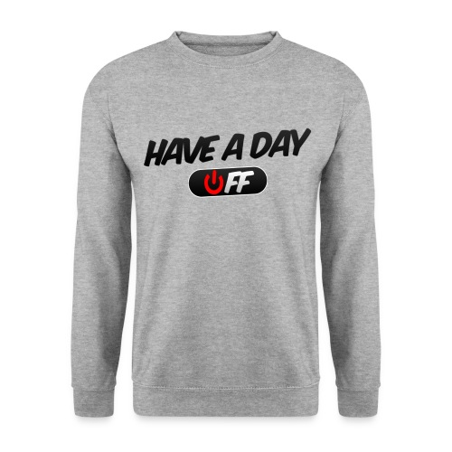 Official Have A Day Off Round Neck jumper - Men's Sweatshirt