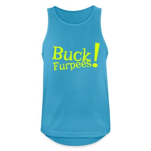 Buck Furpees #1 - Motiv vorne, Neon Gelb - Männer Tank Top atmungsaktiv
