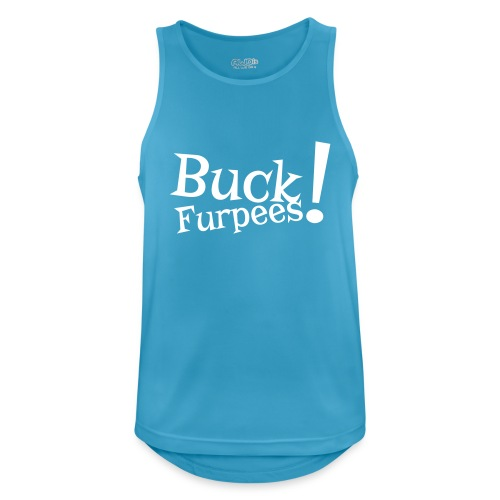 Buck Furpees #1 - Motiv vorne, Weiss - Männer Tank Top atmungsaktiv