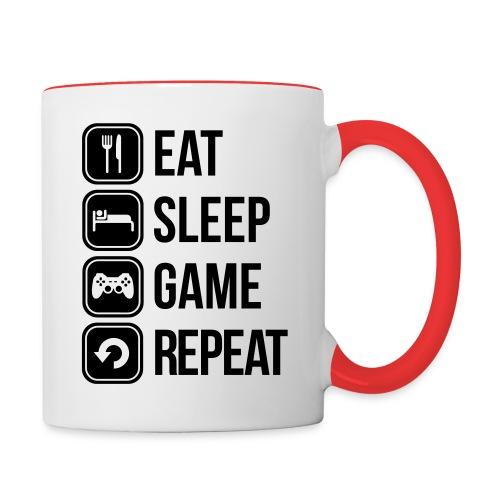 Tasse Gamer Life - Mug contrasté