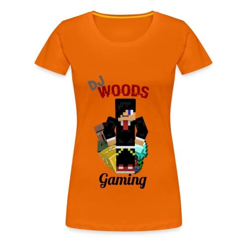 T-Shirt DJWG Vrouw - Vrouwen Premium T-shirt