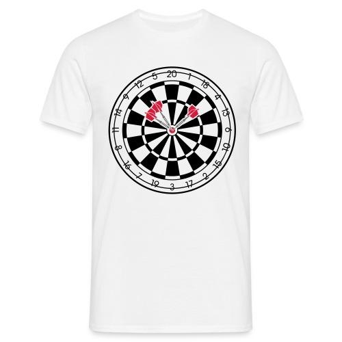 Bullseye - Männer T-Shirt
