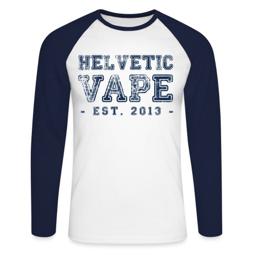 Helvetic Vape - T-shirt baseball manches longues Homme