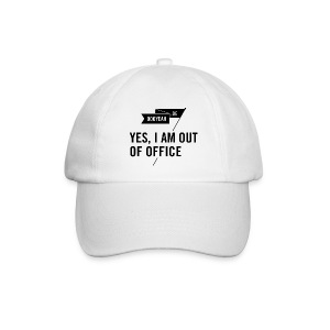 Cap – YES, I AM OUT OF OFFICE - Baseballkappe