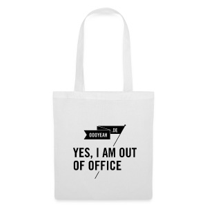 Tasche – YES, I AM OUT OF OFFICE - Stoffbeutel