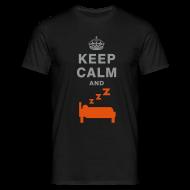 T-Shirts ~ Men's T-Shirt ~ Keep calm and sleep T-shirt