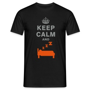 Keep calm and sleep T-shirt - Men's T-Shirt