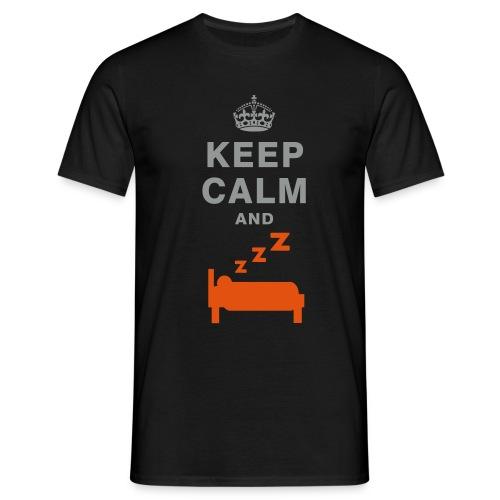 Keep calm and sleep T-shirt - Men's T-Shirt