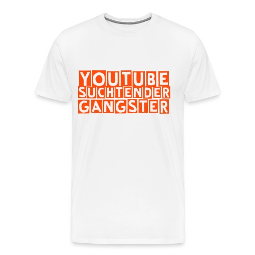 YouTube Suchtender Gangster MännerEdition - Männer Premium T-Shirt