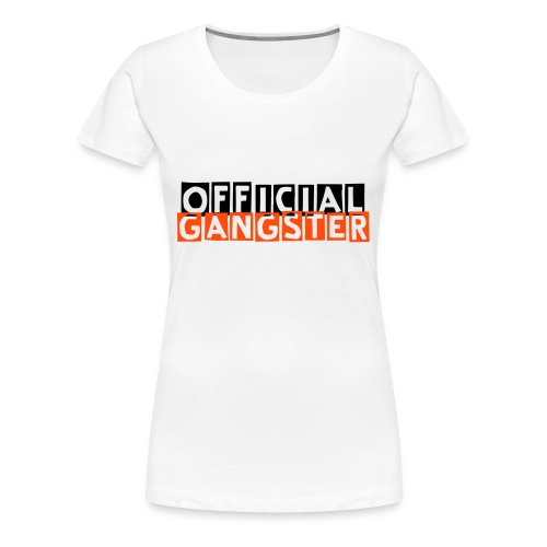 Offical Gangster Shirt Frauen - Frauen Premium T-Shirt