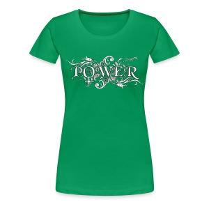 Frauen Power Symbol - Frauen Premium T-Shirt