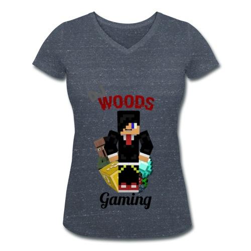 VHals DJWG Vrouw - Vrouwen bio T-shirt met V-hals van Stanley & Stella