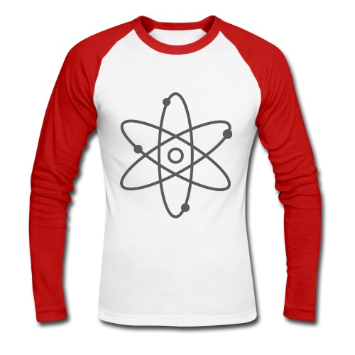 T-shirt Baseball geek - Men's Long Sleeve Baseball T-Shirt
