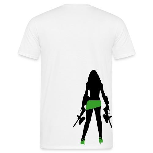 Paintball Shirt Guns - Männer T-Shirt