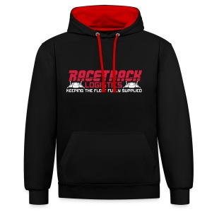 Fly with Racetrack Logistics - Contrast Colour Hoodie