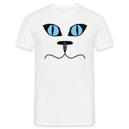 Cat man illuminati nose T-shirt (man's) - Men's T-Shirt