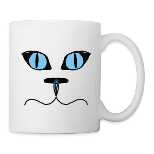 Cat man illuminati nose mug - Mug