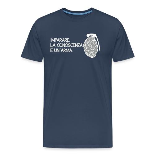 La conoscenza é un' arma - Maglietta Premium da uomo