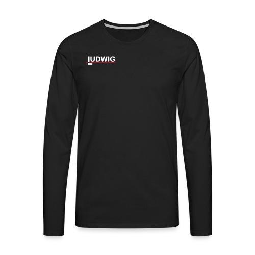 LUDWIG Langarmshirt NEU - Männer Premium Langarmshirt
