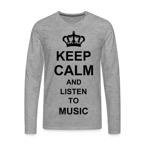 Keep calm.. - Men's Premium Longsleeve Shirt