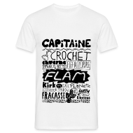 Tee shirts ~ Tee shirt Homme ~ T-shirt Capitaine Homme