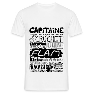 T-shirt Capitaine Homme - T-shirt Homme