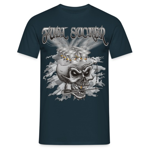 Fuel Sucker Racing Skull - Männer T-Shirt