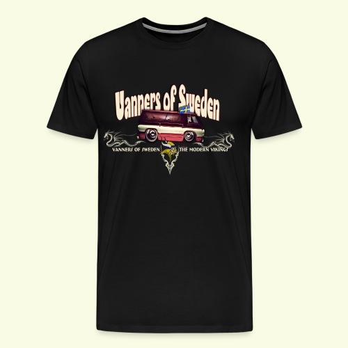 VANNERS OF SWEDEN - Men's Premium T-Shirt