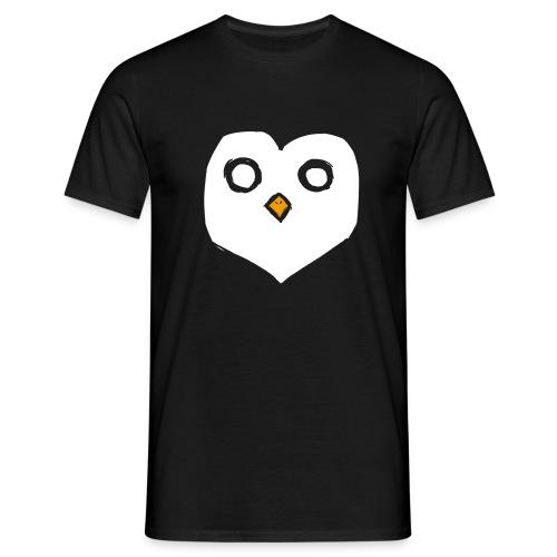 A Heart for Penguins - Men - Männer T-Shirt