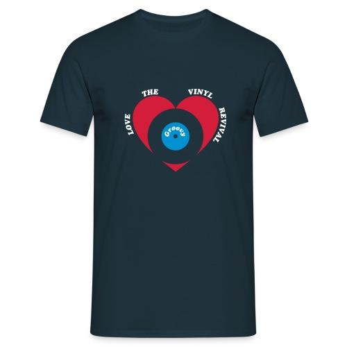 Retro Vinyl Revival Tee - Men's T-Shirt