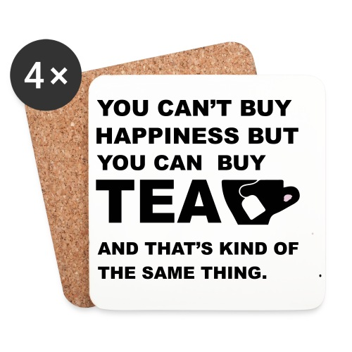 You Can Buy Tea Coasters 4 Pack! - Coasters (set of 4)