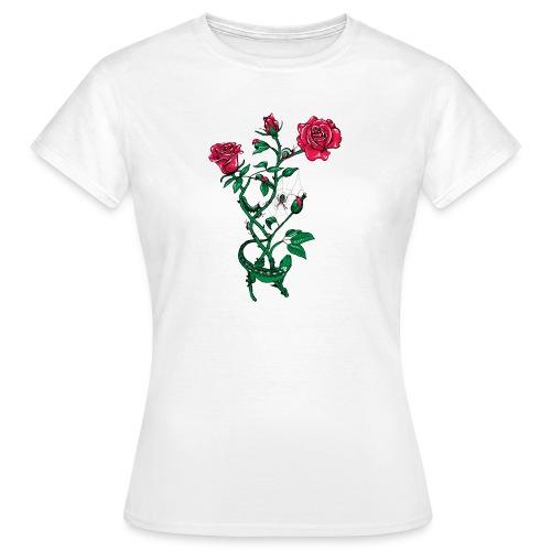Natural Rose II manche courte femme - T-shirt Femme