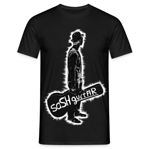 saSH guitAR T-Shirt Herren (Front only) - Männer T-Shirt