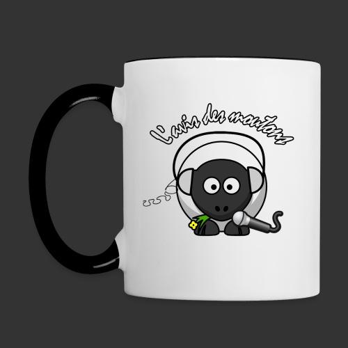 Tasse L'Avis des Moutons-gauche - Mug contrasté