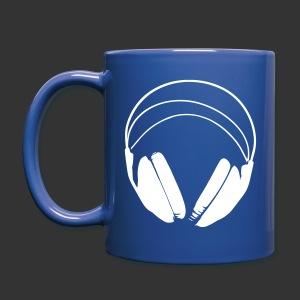 Tasse bleue podradio - Gauche - Mug uni