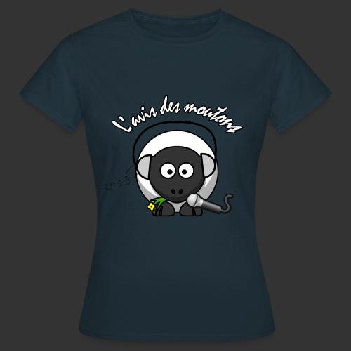 T-Shirt Femme L'Avis des Moutons - Couleur - T-shirt Femme