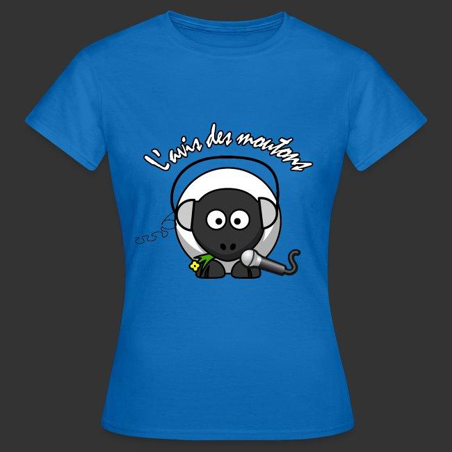 T-Shirt Femme L'Avis des Moutons - Couleur