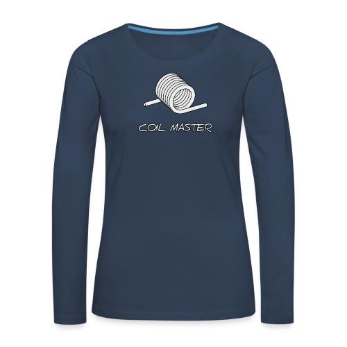 Coil master - T-shirt manches longues Premium Femme