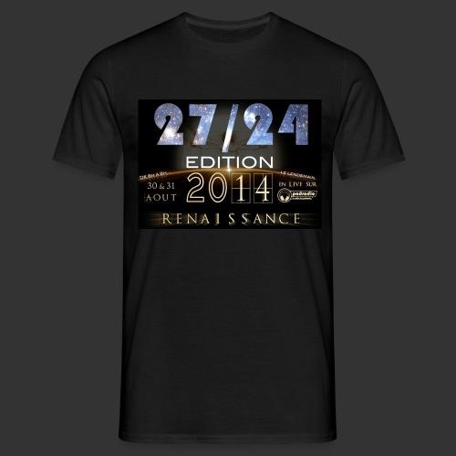 T-Shirt 27/24 ed 2014 - Renaissance - T-shirt Homme