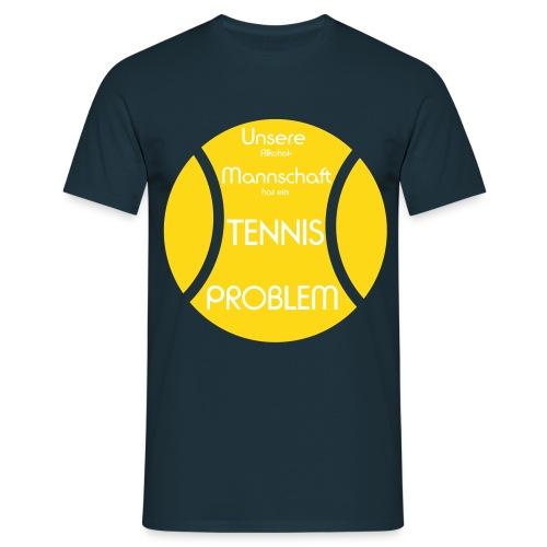 Tennis Fun Shirt ab 18 Jahren - Männer T-Shirt