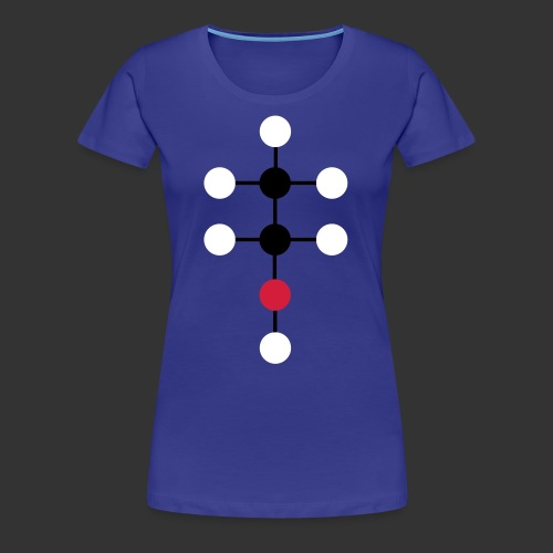 Alcool molecule - femme - T-shirt Premium Femme