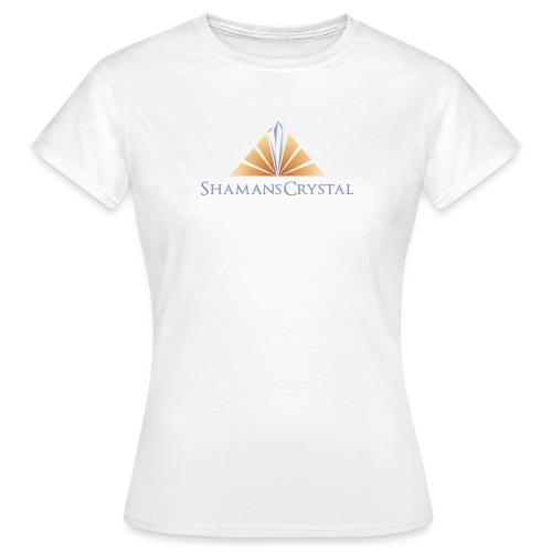 Ladies Shamans Crystal Logo T Shirt - Women's T-Shirt