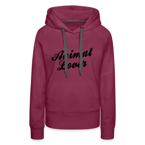 Womens 'Animal Lovers' Hoody - Women's Premium Hoodie