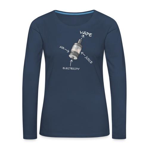 Atomizer - T-shirt manches longues Premium Femme
